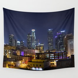 Photography in Downtown. Wall Tapestry