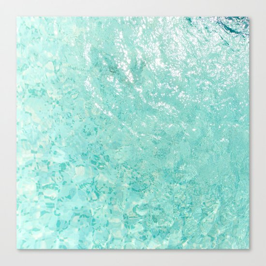Pool Floor Canvas Print