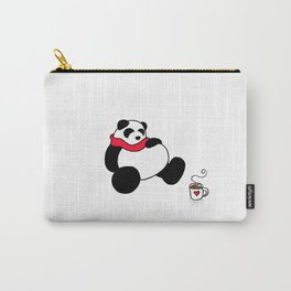Holiday Print 5: passed out panda Carry-All Pouch