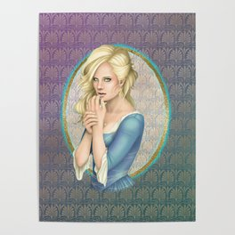 Blonde Beauty Poster