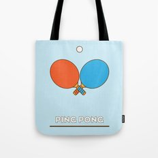 I am the sport! part1 ping pong  Tote Bag
