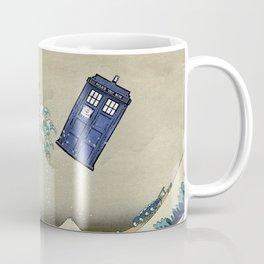 The Great Wave Doctor Who Coffee Mug