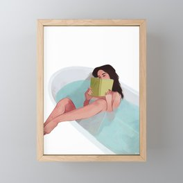 Bathtub Framed Mini Art Print