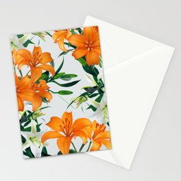 Glorious Lilies Stationery Cards