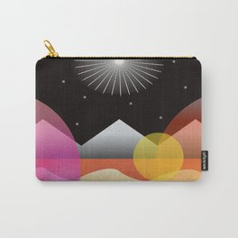 Solar Flares Carry-All Pouch