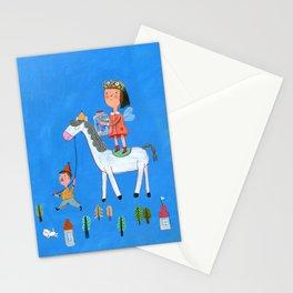 White Horse, Blue Sky Stationery Cards