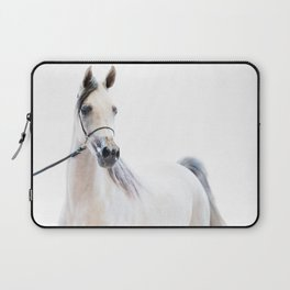 horse collection. arabian white Laptop Sleeve
