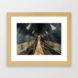 Basílica Walkway (Ecuador) Framed Art Print