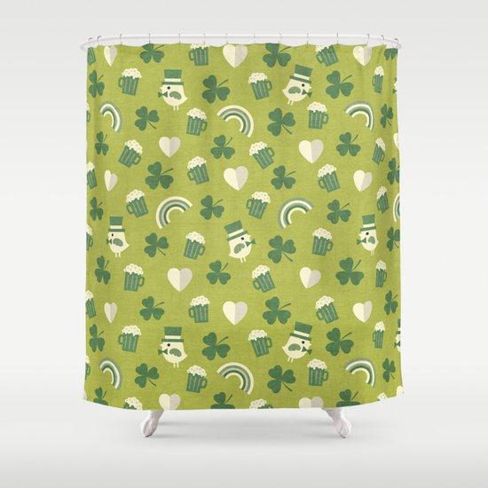 TOP O' THE MORNIN' Shower Curtain