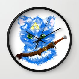 A link to the cats Wall Clock
