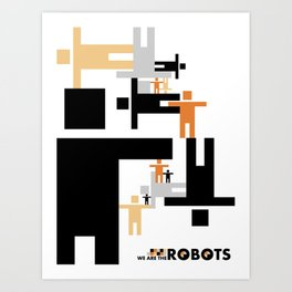 We Are The Robots - Giant Art Print