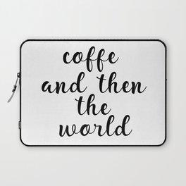 Coffee Bar Decor, Coffee Sign, Kitchen Decor, Kitchen Wall Art Laptop Sleeve