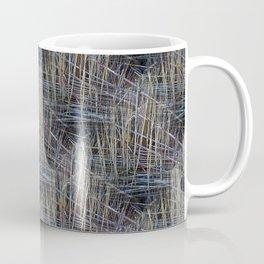 Reed Pattern Coffee Mug