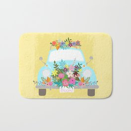 Flower Powered Bug Bath Mat