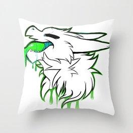 Wicker Paint Throw Pillow