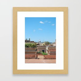 Peter in the Distance Framed Art Print