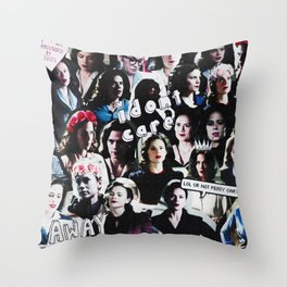 Peggy Carter Sass Throw Pillow