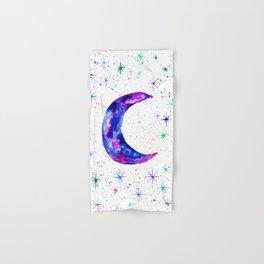 Dreamy Crescent Moon Phase Hand & Bath Towel