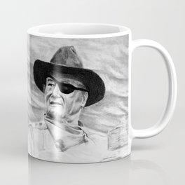 John Wayne Portrait Drawing Coffee Mug