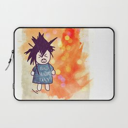 Bad Hair Day Laptop Sleeve
