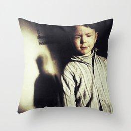 Sleepwalking Boy Throw Pillow