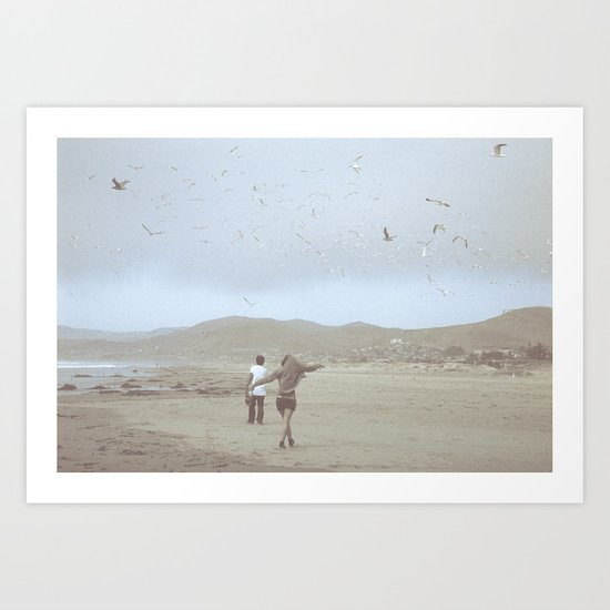 Young, Wild and Free Art Print