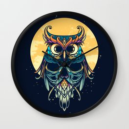 Nightwatcher Wall Clock