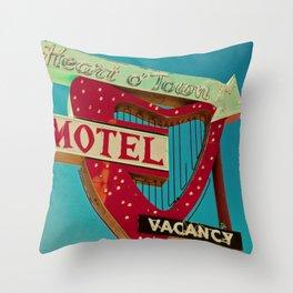 Heart 'O Town Throw Pillow