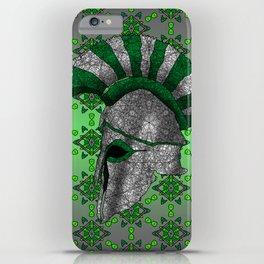 Spartan Helmet iPhone Case