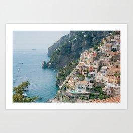 Italy. Amalfi Coastline Art Print