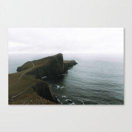 Neist Point Lighthouse II - Landscape Photography Canvas Print