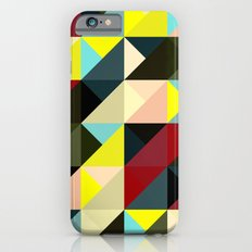 Diagonal triangle pattern iPhone 6s Slim Case