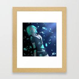 Phosphophyllite Framed Art Print