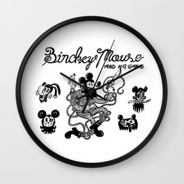 Binckey Mouse Wall Clock
