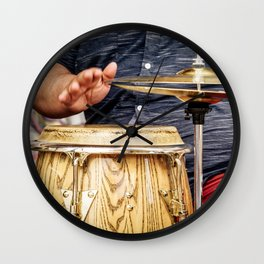 Conga Wall Clock