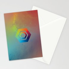 Hexagons Stationery Cards