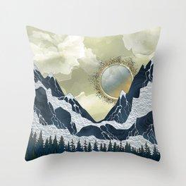 Marble Mountains Throw Pillow