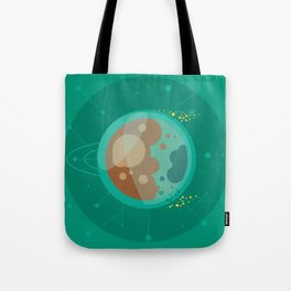 Planet D - Trappist System Tote Bag