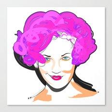 Drew Barrymore Canvas Print