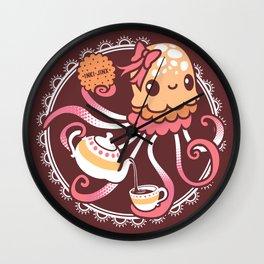 Sweet Jellyblub Tea  Wall Clock
