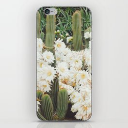 Cactus and Flowers iPhone Skin