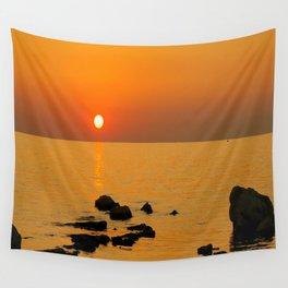 evening beach Wall Tapestry