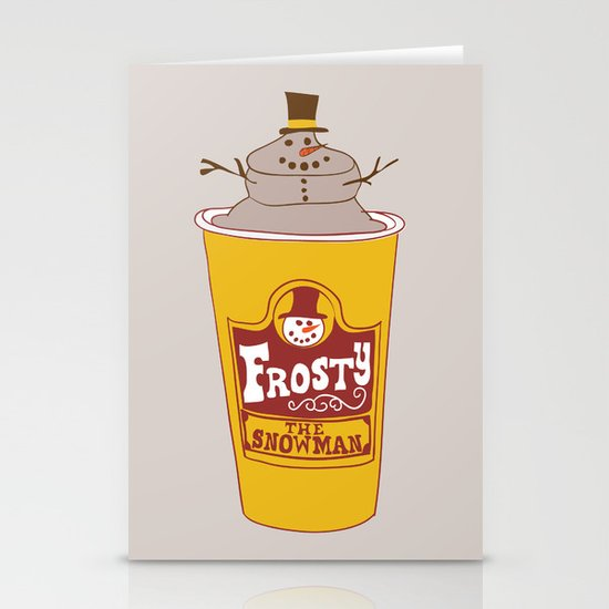 Frosty the Snowman Stationery Cards