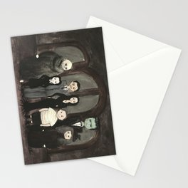 Addams Family  Stationery Cards