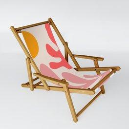 Henri Matisse - Leaves - Blush Sling Chair