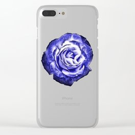 Somber Rose Clear iPhone Case