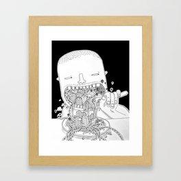 Eat Millo Framed Art Print