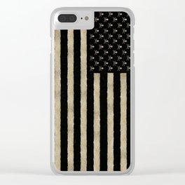 Pirate State Clear iPhone Case