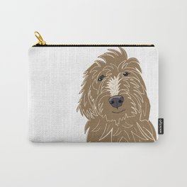 A doodle of a Golden Doodle Carry-All Pouch