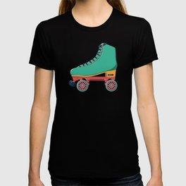 old school roller skate T-shirt
